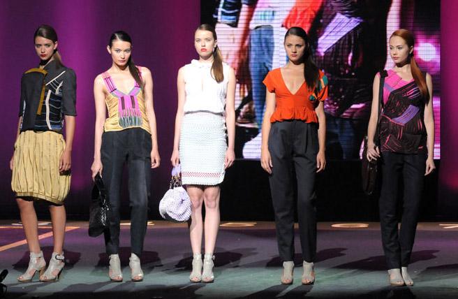 Моделите на Деси Горанова на конкурса Mittelmoda