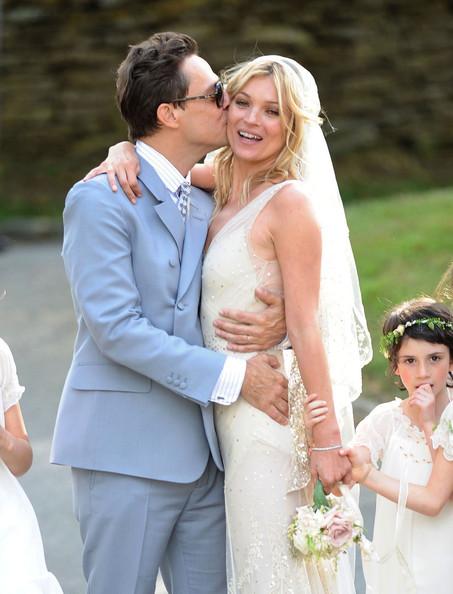 Сватбата на Кейт Мос и Джейми Хинс