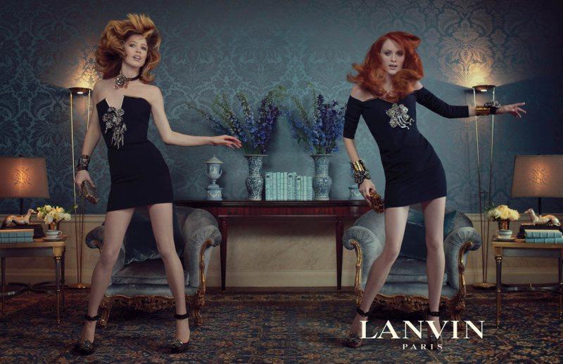 Рекламна кампания Lanvin есен-зима 2011