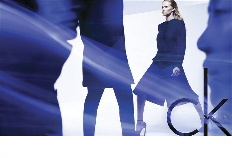 Liu Wen & Lara Stone - Calvin Klein Fall Winter 2011