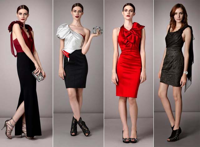 Karen Millen lookbook fall 2011