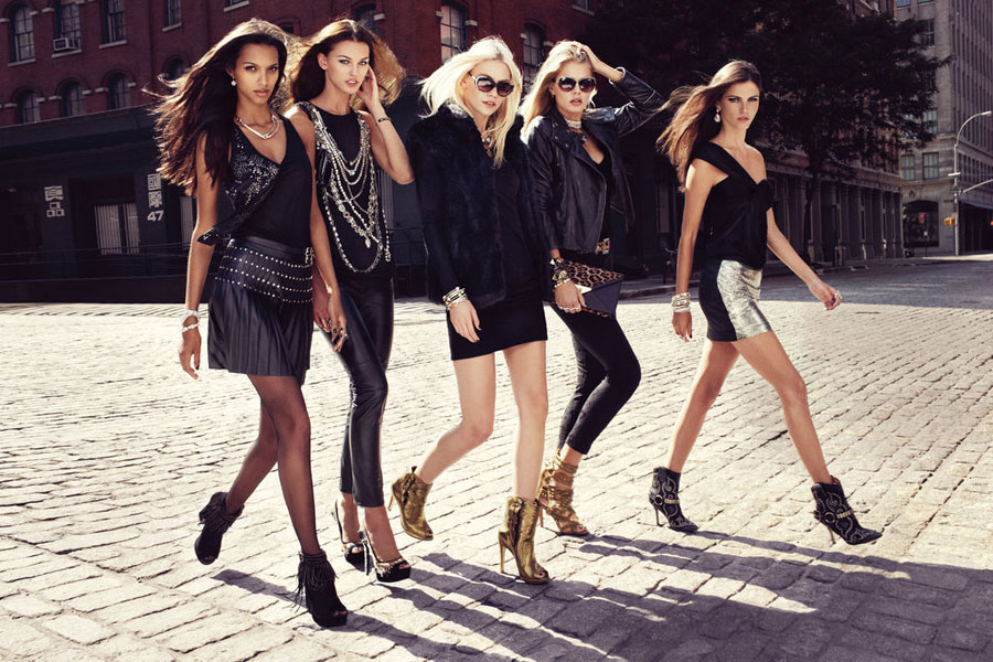 Nine-West-Fall-2012 AD Campaign