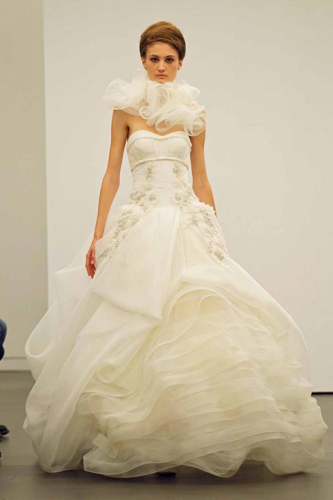 Vera Wang BRIDAL SHOW FALL 2013