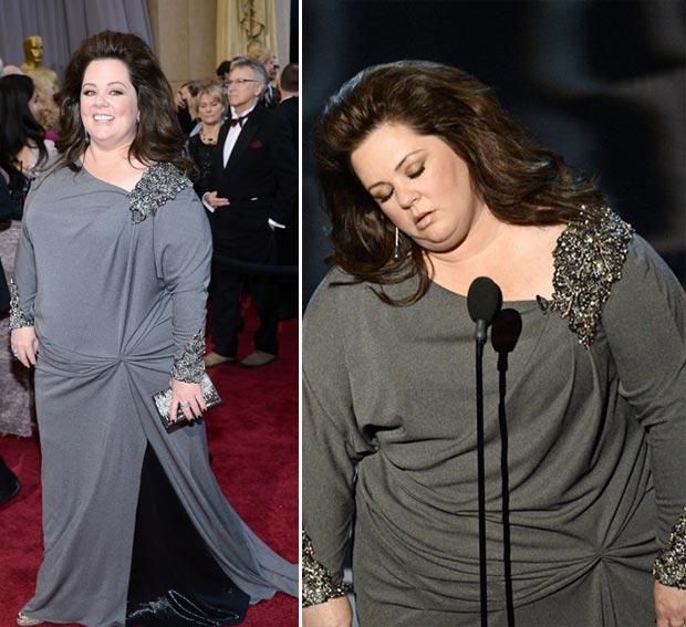 2013-oscars-fashion-fail-melissa-mccarthy-gray-dress