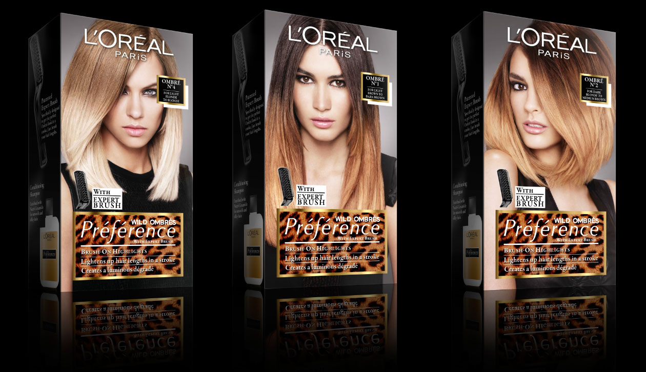 Loreal Ombre style