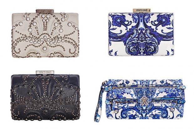 roberto cavalli handbags SS 2013