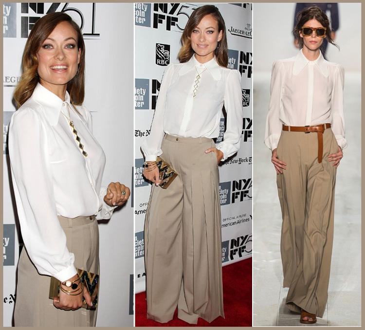 Olivia Wilde wears Michael Kors at Her Premiere