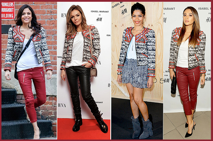 Stars with HM by Isabel Marant
