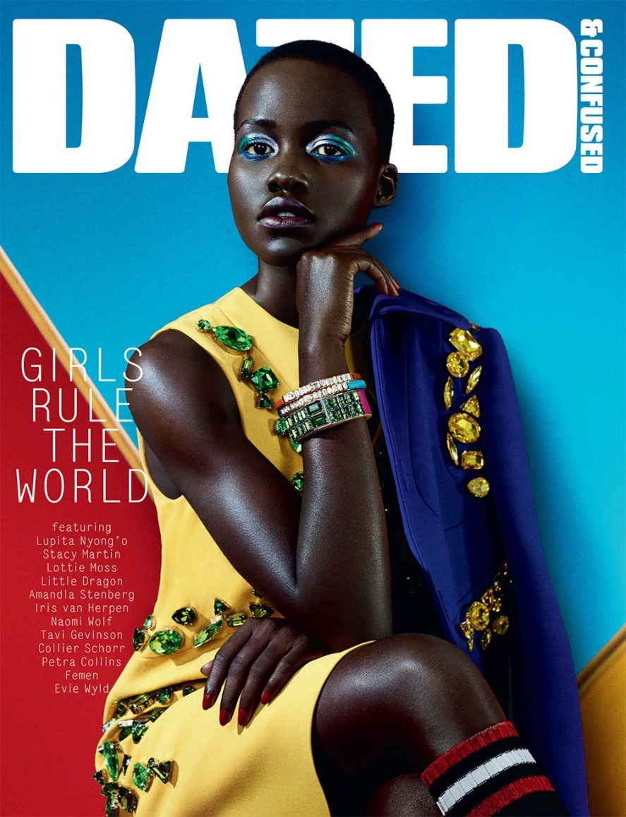 Lupita-Nyong'o-by-Sharif-Hamza-for-Dazed-Confused-February-2014-cover