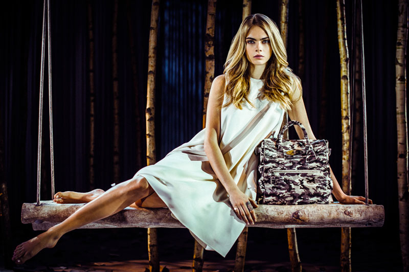 Cara Delevingne Launches Her Mulberry Bag Collection