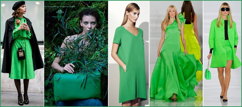 Green colours spring-summer 2014