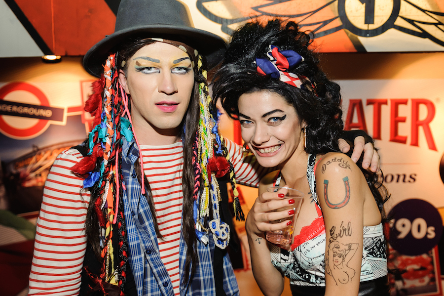 Boy George and Amy Winehouse