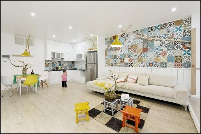 Цветен минималъзъм за стилен дом