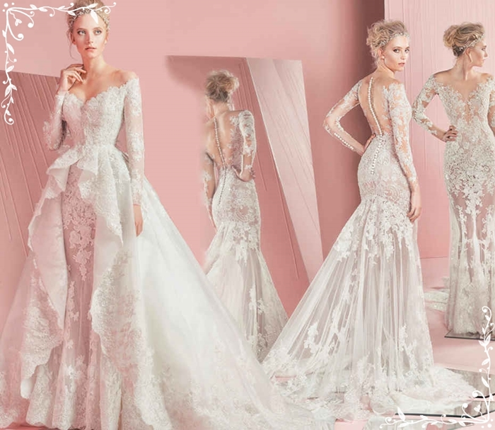 Zihair Murad Spring 2016 Bridal Collection