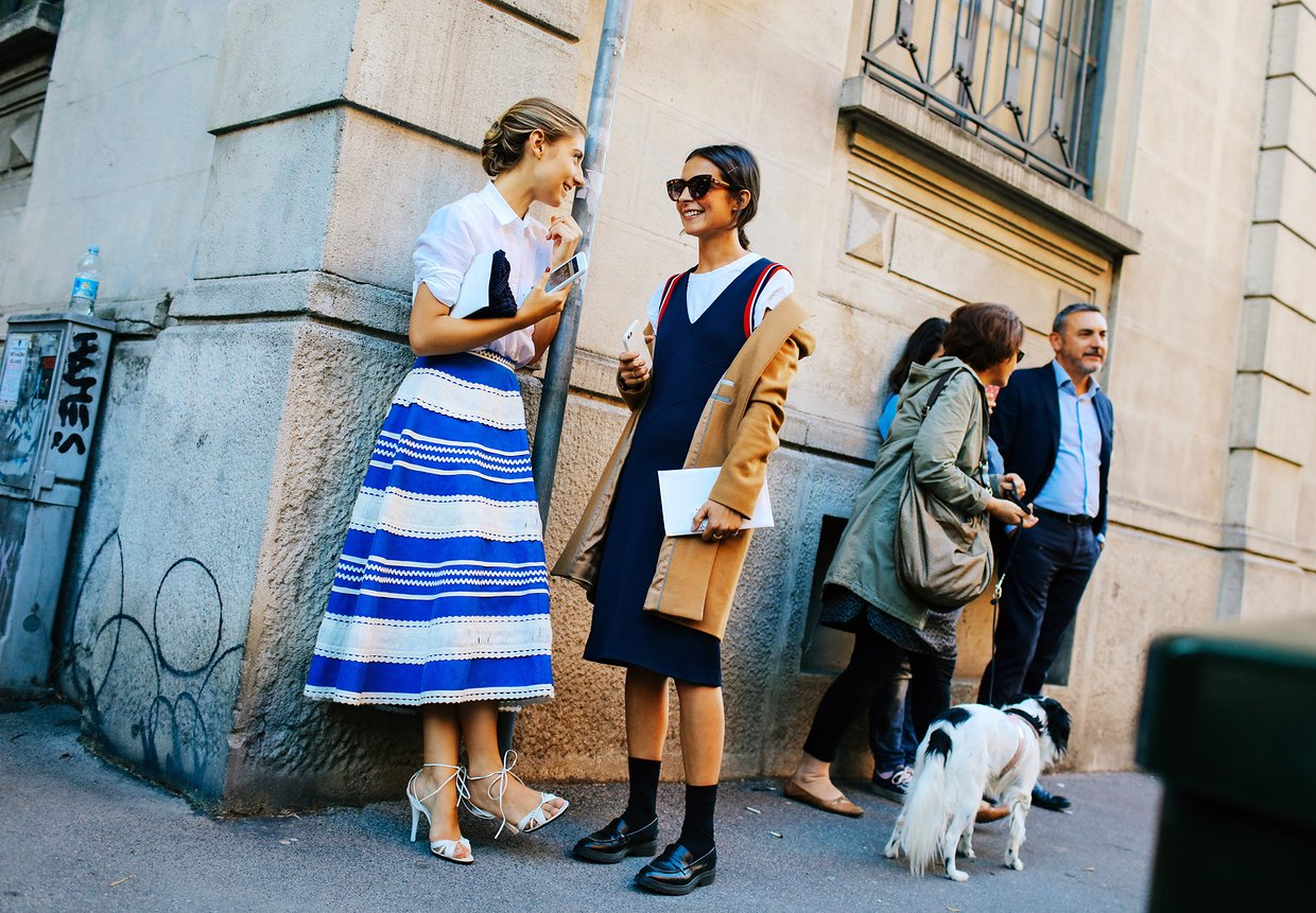 Milan Fashion Week Street Style 2015