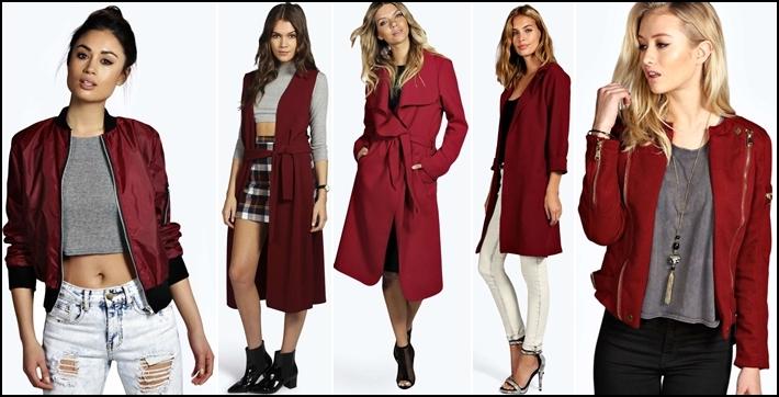Червено палто