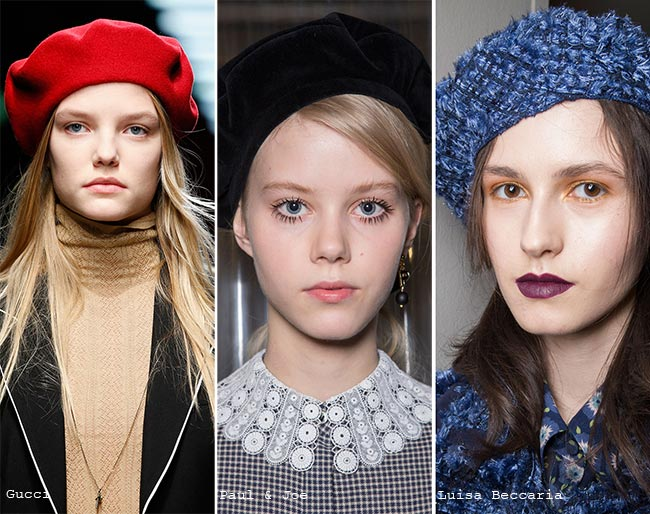 Fall Winter 2016 Hat Trends