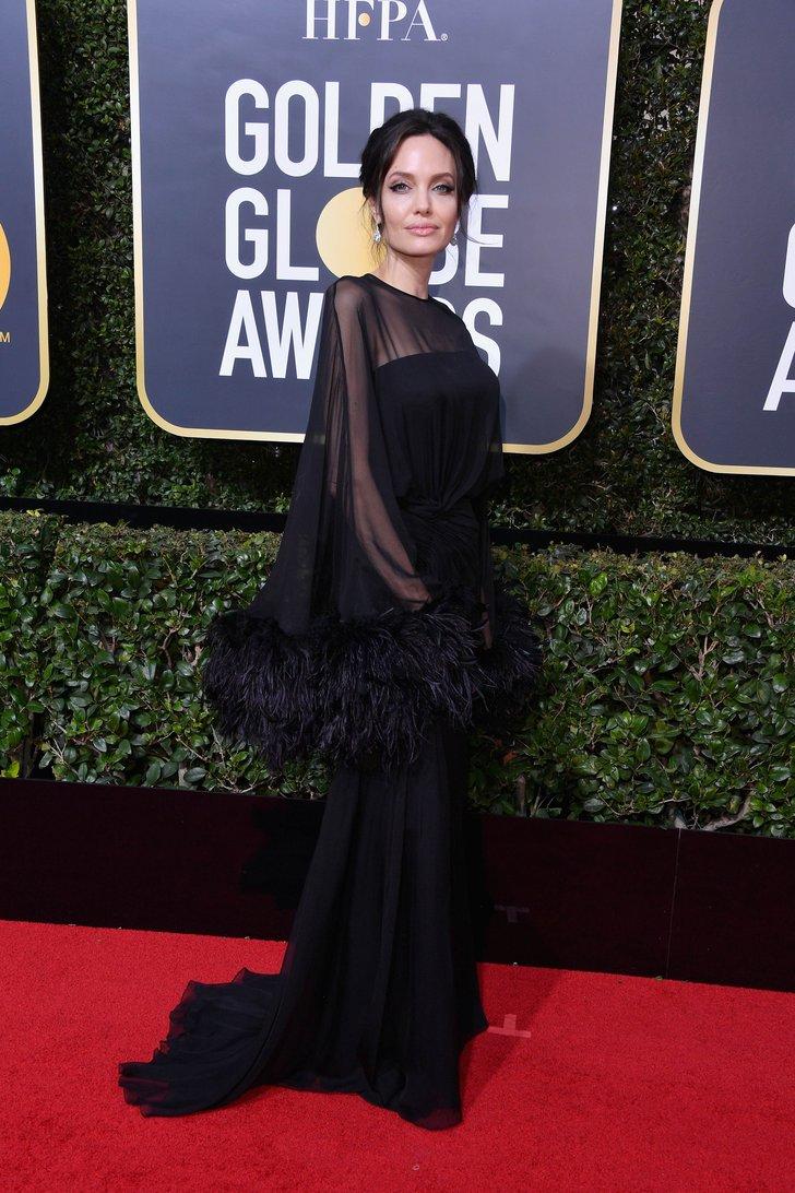 Анджелина Джоли- Versace