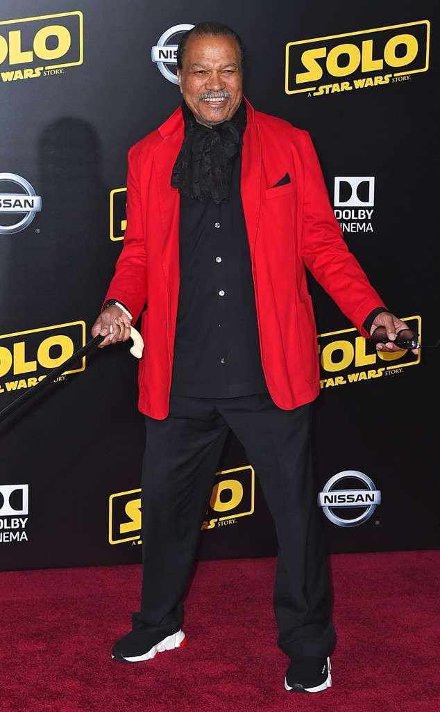 Billy Dee Williams (актьорът, който играе Lando Calrissian в оригиналната Star Wars трилогия)