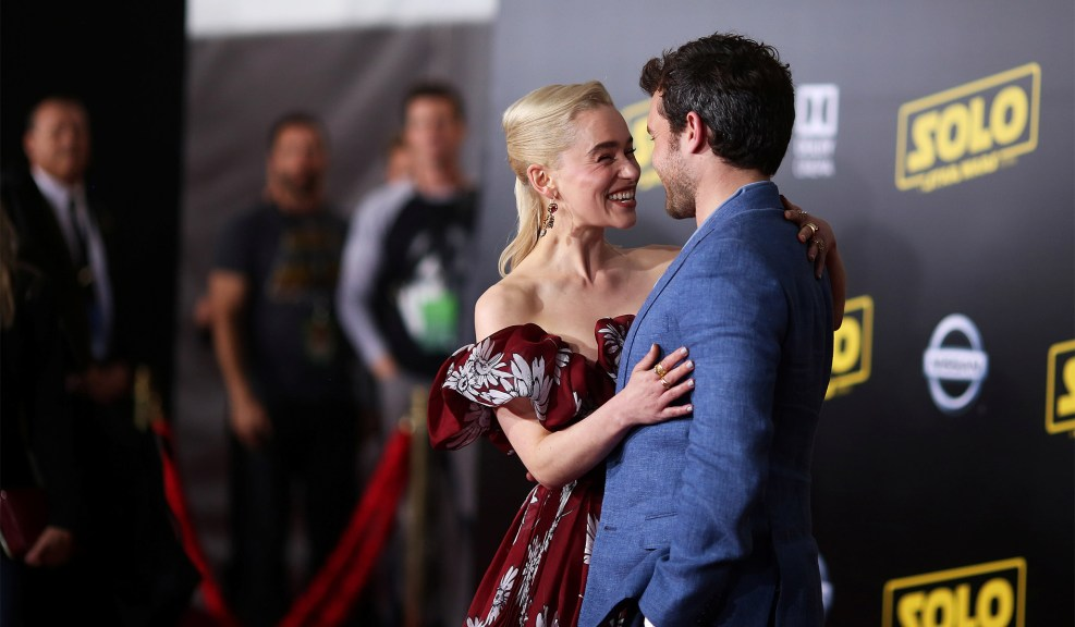 Emilia Clarke и Alden Ehrenreich