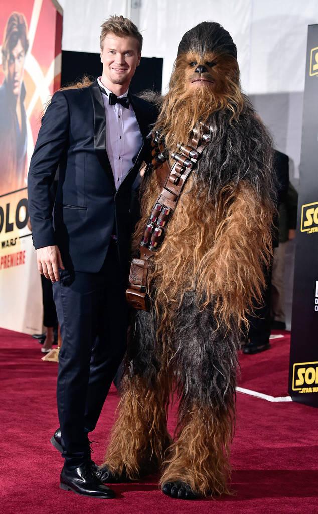 Joonas Suotamo (Chewbacca) и Chewbacca