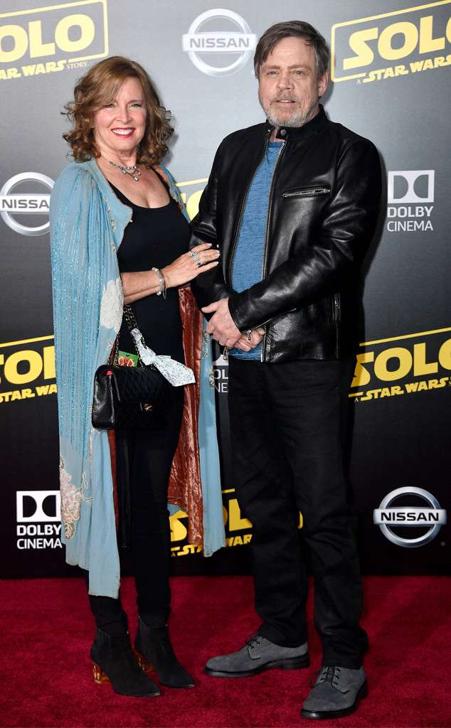 Mark Hamill (Luke Skywalker) и Marilou York