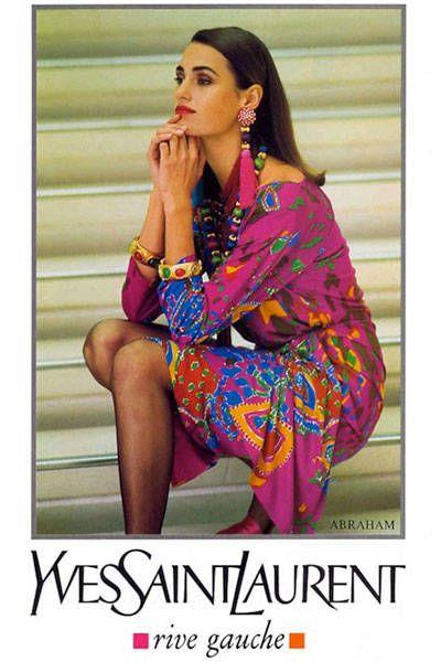 Yves Saint Laurent Spring 1991